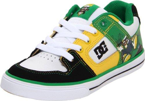 DC - - Jugend B Reine Wg Halbschuh Black/White/Emerald