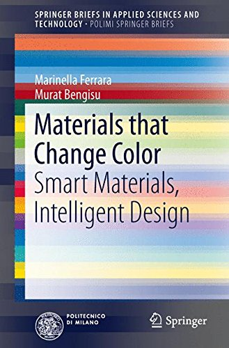 Materials that Change Color: Smart Materials, Intelligent Design (SpringerBriefs in Applied Sciences and Technology)
