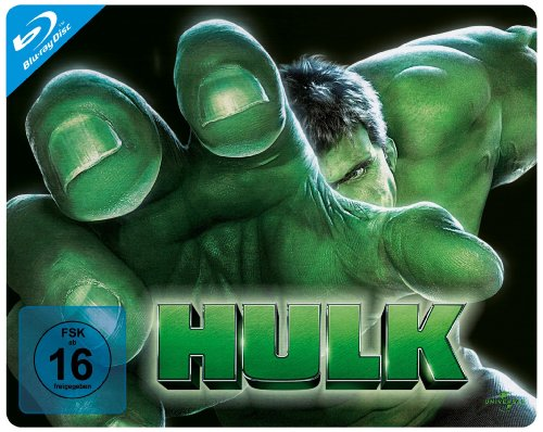 Hulk - Quersteelbook [Blu-ray]