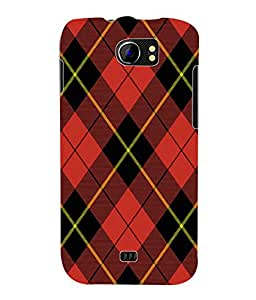 Fuson 3D Printed Pattern Designer Back Case Cover for Micromax Canvas 2 A110 / A110Q - D1013