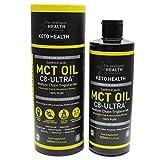 Ultra C8 Mct Oil Ketone Boosting Caprylic Acid Oil Fasting Keto Paleo Vegan