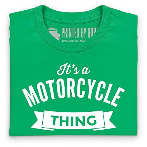 It's a Motorcycle Thing T-Shirt, Herren Keltisch-Grn