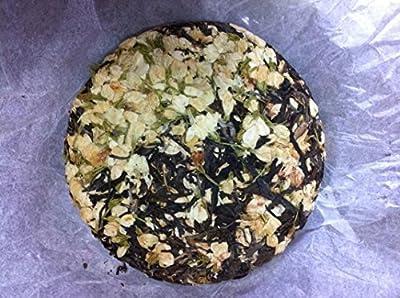 Fleur de jasmin mélangée au gâteau de thé Pu erh 200 g