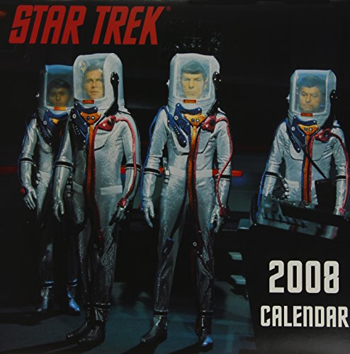 Star Trek: The original Series 2008. Wall Calendar. (Kalender)