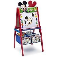 Preisvergleich für Delta Mickey Mouse Holzstaffelei mit Stauraum (Rot)