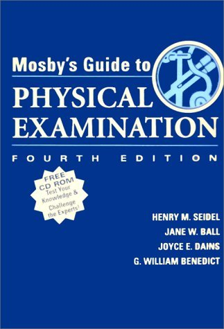 Mosby's Guide to Physical Examination (Book & CD-ROM) by Henry M. Seidel MD (1999-01-30)