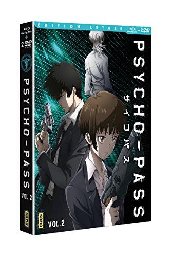 Psycho-Pass - Saison 1, Vol. 2 [Édition Létale Blu-ray + DVD]