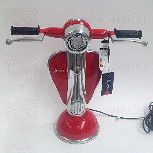 vespa-lampe-de-table-avec-phare-rouge