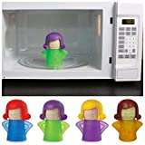 #5: Ontime Angry mama Microwave Oven Steam Cleaner. Easily Cleans the Crud in Minutes. Assorted Colors.
