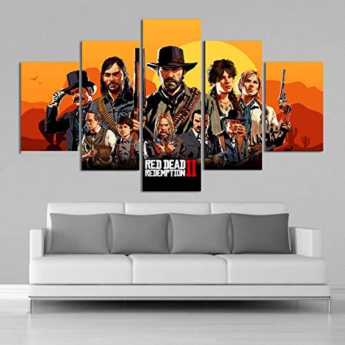 MIYCOLOR Red Dead Redemption 2 HD Acción Aventura