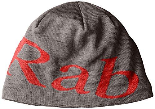 Rab Logo Beanie (grau)
