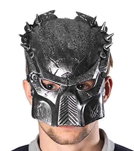 Predator Alien Maske für Halloween & Karneval Party Fasching Kostüm - (Predator Alien Kostüme Halloween Und)