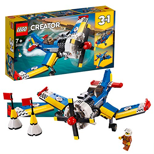 LEGO 31094 Creator 3-in-1 Race Plane Building Kit, Colourful Best Price and Cheapest