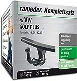 Rameder Komplettsatz, Anhängerkupplung starr + 13pol Elektrik für VW Golf Plus (113020-05379-2)