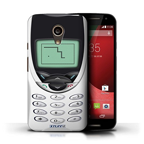 iCHOOSE Print Motif Coque de protection Case / Plastique manchon de telephone Coque pour iPhone 6+/Plus 5.5' / Retro Phones Collection / Dark Blue Nokia 8210 Nokia 8210 blanc