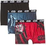 Star Wars SW/AM/1/PK3/B3 Pantalones Cortos, Mehrfarbig B3, XL (Pack de 3 para Hombre