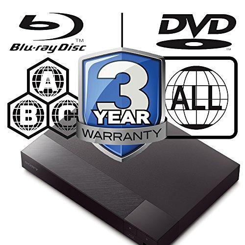 51FI8F1Y6YL. SS500  - SONY BDP-S6700 2K/4K Lecteur Multi Zone Region Code Free Blu Ray 2D/3D - WI-FI - DVD - SACD- CD Player