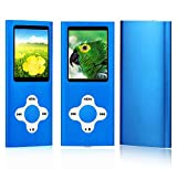 from ES Traders MP3 Player Music Media ES Traders 8GB With Radio, Voice Recorder, Games 4th Generation Model 8GB MP3-Blue