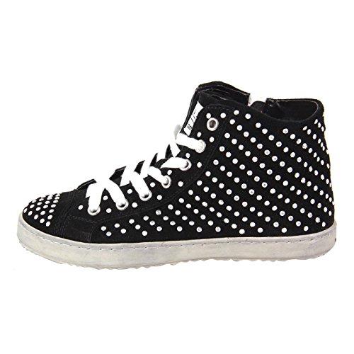 Pelle FRANCESCOMILANO Sneaker High Top Nero F453T nero 39