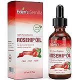 Aceite de Rosa Mosqueta (60ml). Aceite orgánico certificado. Prensado en frío y sin refinar. 100% puro y natural.