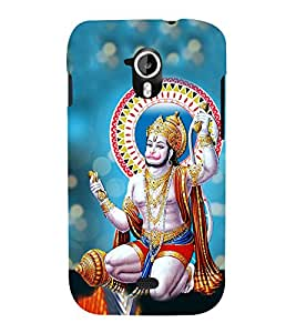 Anjaneya 3D Hard Polycarbonate Designer Back Case Cover for Micromax Canvas HD A116 :: Micromax Canvas HD Plus A116Q