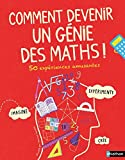 """Afficher """"Comment devenir un génie en maths - 50 expériences amusantes"""""""