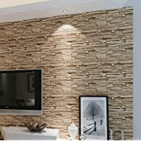 YC Retro salone imitazione mattoni pietra grano sfondi 3D TV parete carta abbigliamento negozio progetto Hotel wallpaper ,