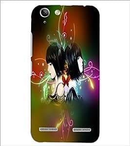 PrintDhaba Twins D-2983 Back Case Cover for LENOVO VIBE K5 (Multi-Coloured)