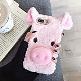 ZYQ Pink Lucky Pig Protector TPU Silicone Skin Etui Case
