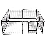 Pawhut Heavy Duty Dog Pet Puppy Metal Playpen Play Pen Rabbit Pig Hutch