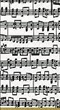 Caspari Lot de 15 serviettes en papier Motif papier à musique