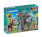 Playmobil Dinos 9429 Campo Base e T-Rex, dai 4 Anni