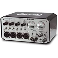 AKAI Professional EIE PRO - Interfaz audio MIDI USB con calidad profesional 24-Bit, 4 entradas, 4 salidas y 3 puertos USB
