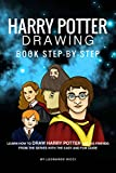 #4: Harry Potter Drawing Book Step-by-Step: Learn How to Draw Harry Potter and His Friends from the Series with the Easy and Fun Guide