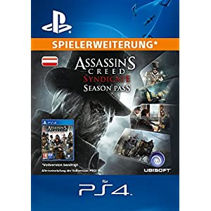 Assassin's Creed Syndicate – Season Pass [Spielerweiterung] [PS4 PSN Code – österreichisches Konto]