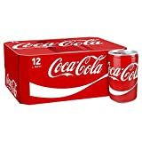 Coca-Cola Classic Soft Drink Can, 12 x 150 ml