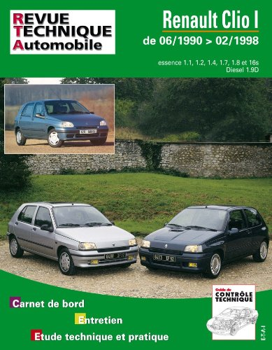 Revue Technique 115.2 Renault Clio Essence et Diesel