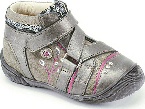 Catimini Cyra, Chaussures de ville fille Gris