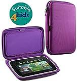 Navitech Lila Hart Schutzhülle Deckung kompatibel mit der Samsung Galaxy Tab3 Kids 7-inch Tablet