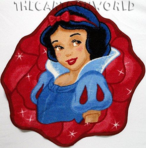 Alfombra Redonda Antideslizante Princesas DISNEY-Blancanieves 67 X 67 cm