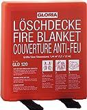 GLORIA Löschdecke ,,GLD120' Loeschdecke G120neu