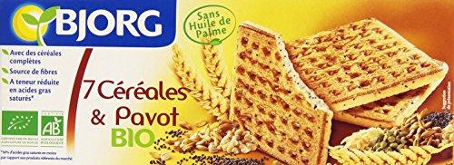 Bjorg Biscuits 7 Céréales et Pavot Bio 150 g
