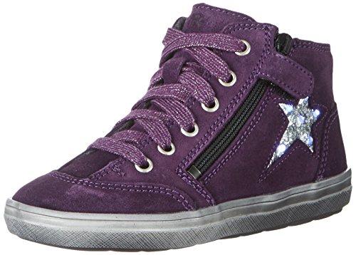 Richter Kinderschuhe Mädchen Blinki (Ilva) Derbys, Violett (Blackberry/Silver), 32 EU