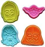 Cortador de galletas Star Wars para fondant