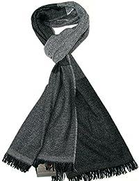 Lovarzi - Bufanda de lana de hombre - invierno rayas lujosas bufandas para hombres - Hecho en Italia