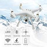 Per W8 2.4G RC Drone con 720 Camera 4CH 6 assi Mini Quadrocopter GPS incorporato senza testa Modalità Altitude Hold Wifi FPV Drone