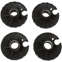 4pcs extraíble de goma protectores de barro cesta puntas de repuesto para bastones de trekking senderismo palos 4cm
