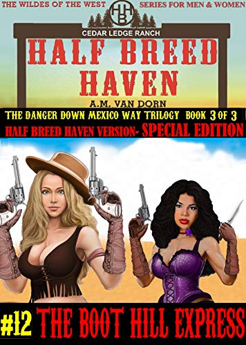 Half Breed Haven #12-Special Edition  HBH Version-The Boot Hill Express: A Wildes of the West- Wonder women of the Old West Action Adventure Western (English Edition)