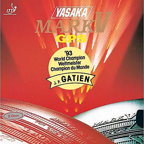 Yasaka Belag Mark V GPS, 2,3 mm, rot (V Tischtennis-mark)