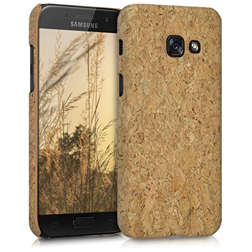 kwmobile Samsung Galaxy A3 (2017) Hülle - Handyhülle für Samsung Galaxy A3 (2017) - Handy Case Kork Cover Schutzhülle